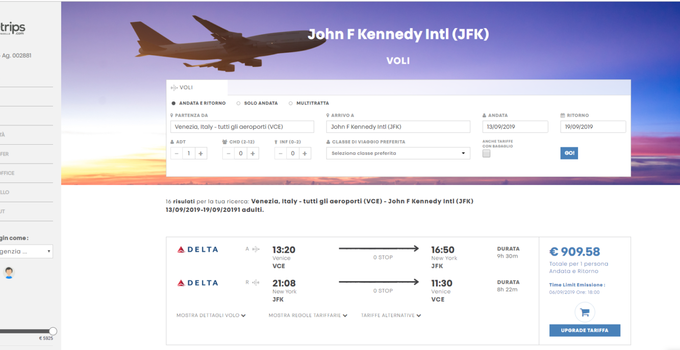 Quale tariffa aerea devo scegliere?