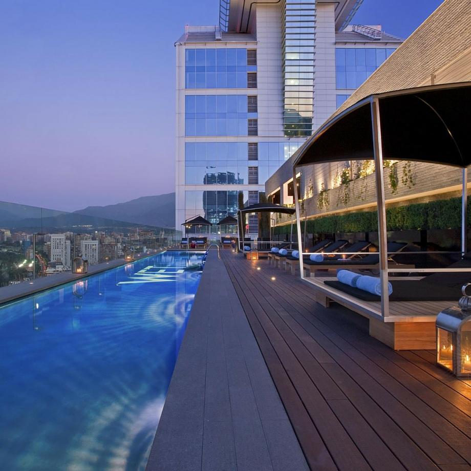 luxury hotel cile santiago