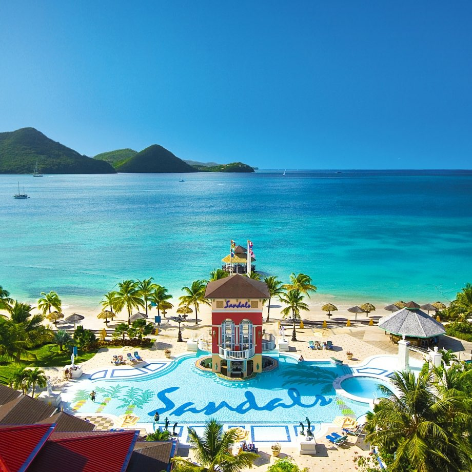 mare caraibi santa lucia sandals grande st lucian