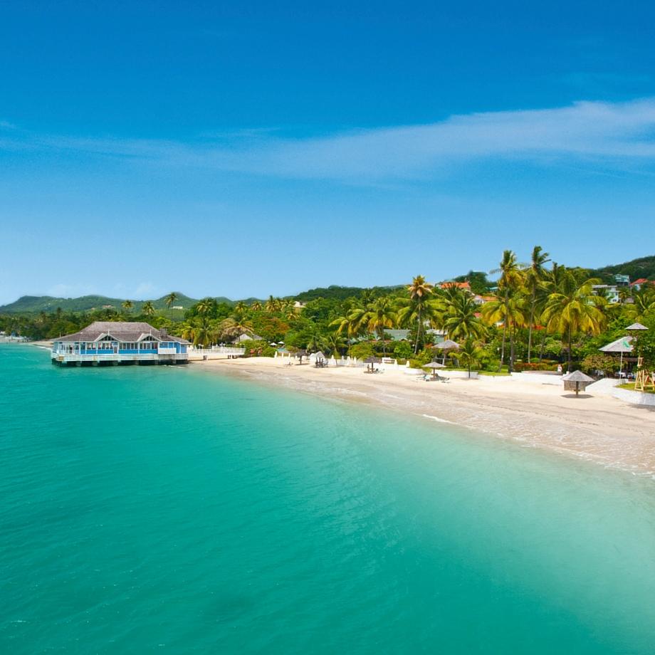 viaggi caraibi santa lucia sandals
