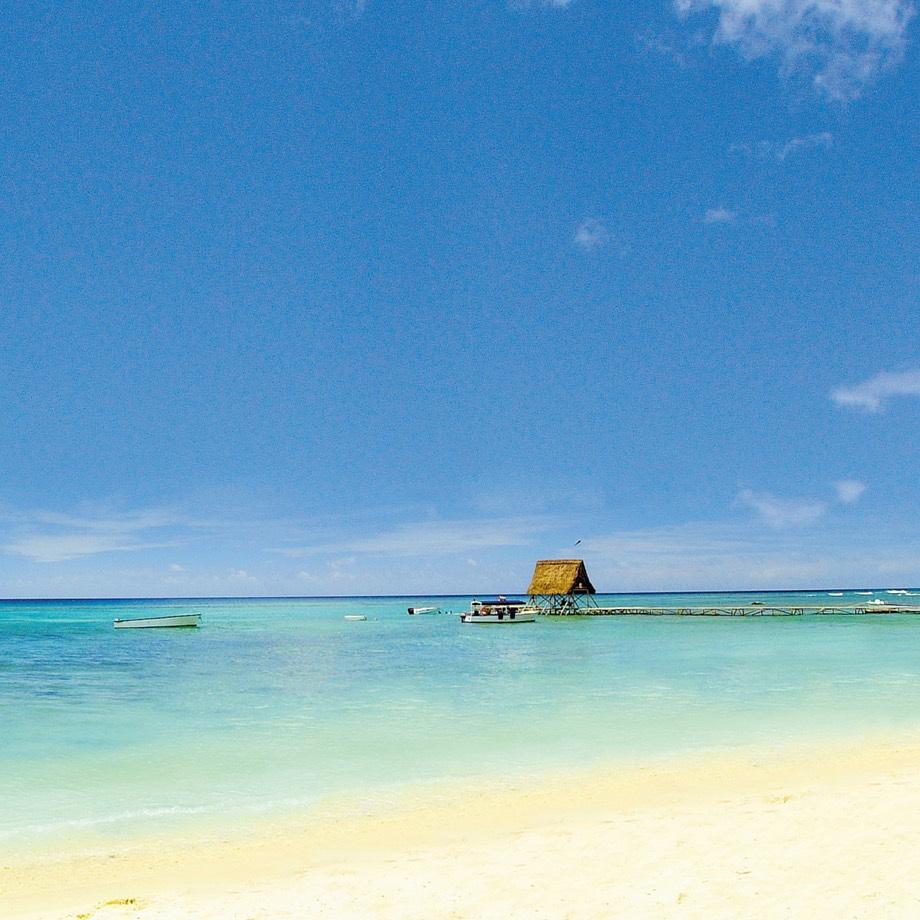 mare oceano indiano mauritius beachcomber le victoria