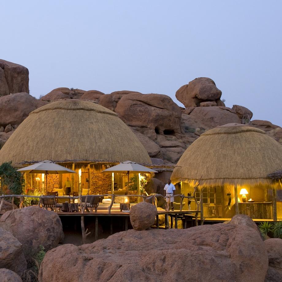 viaggi di lusso namibia africa safari camp kipwe luxury