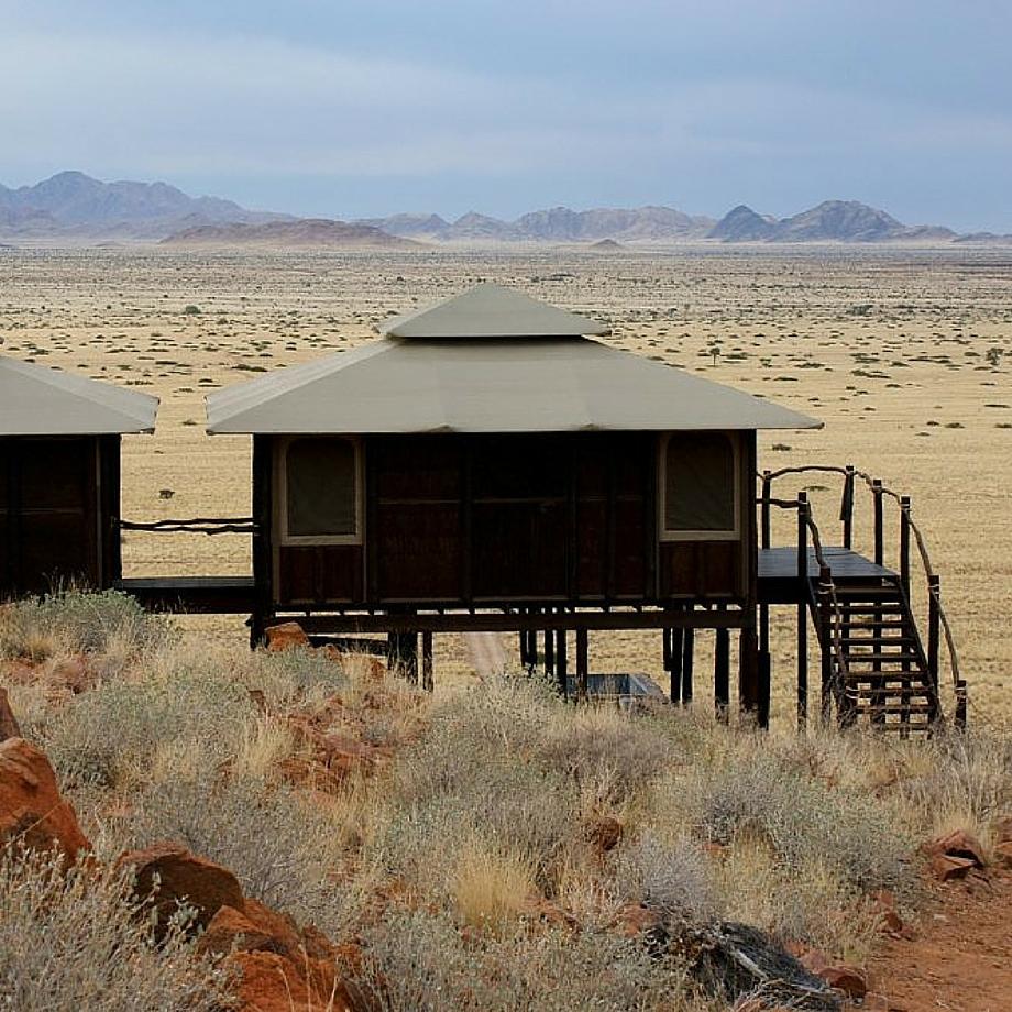 namibia africa safari moon mountain tented lodge