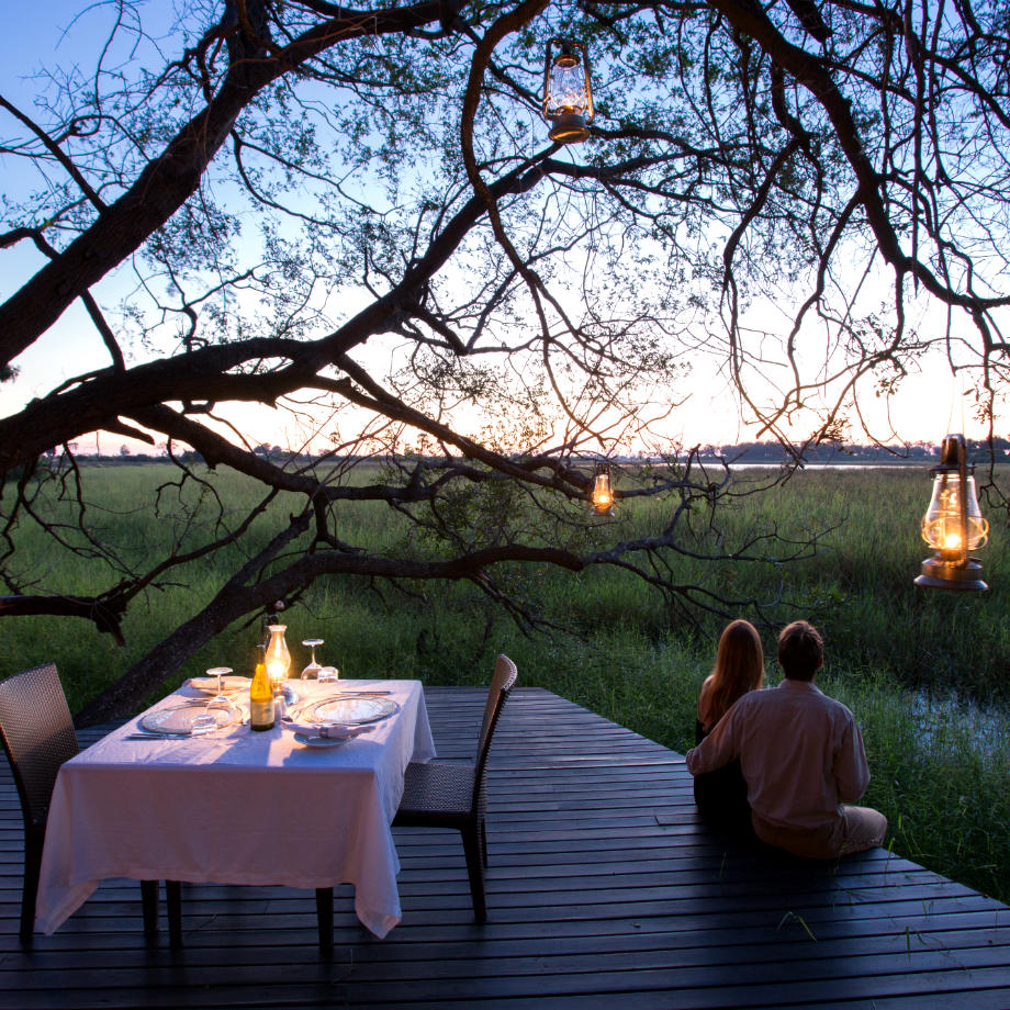 viaggi di lusso okavango delta safari africa botswana abu camp wilderness safaris