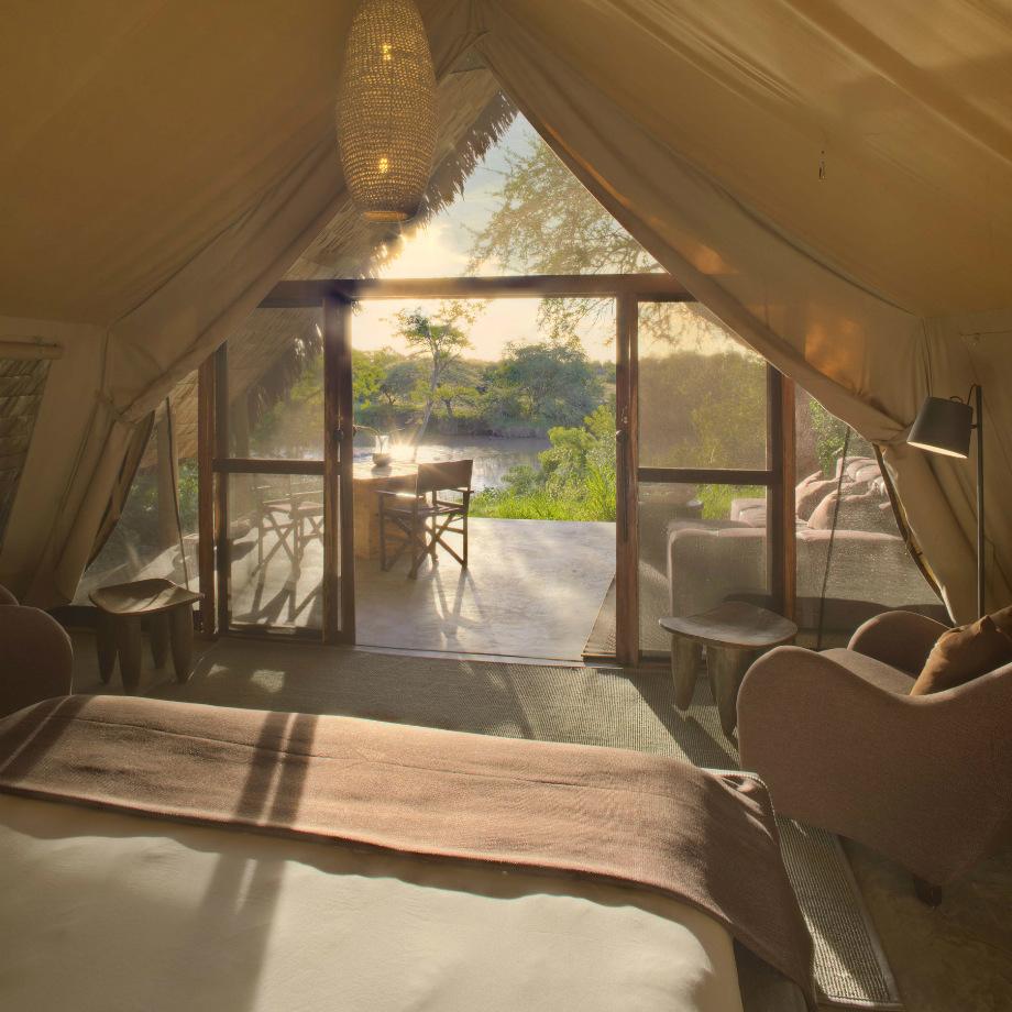 viaggi di lusso africa tanzania andbeyond grumeti serengeti tented camp