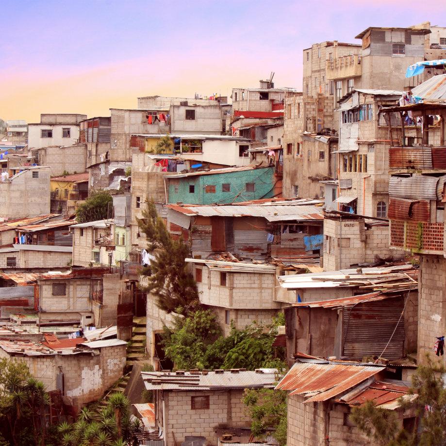 Favelas a Città del Guatemala