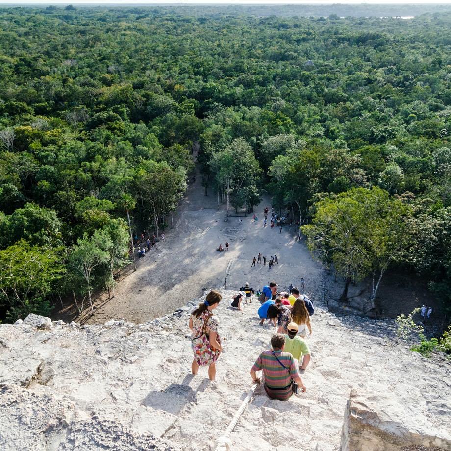tour di gruppo messico coba piramide maya