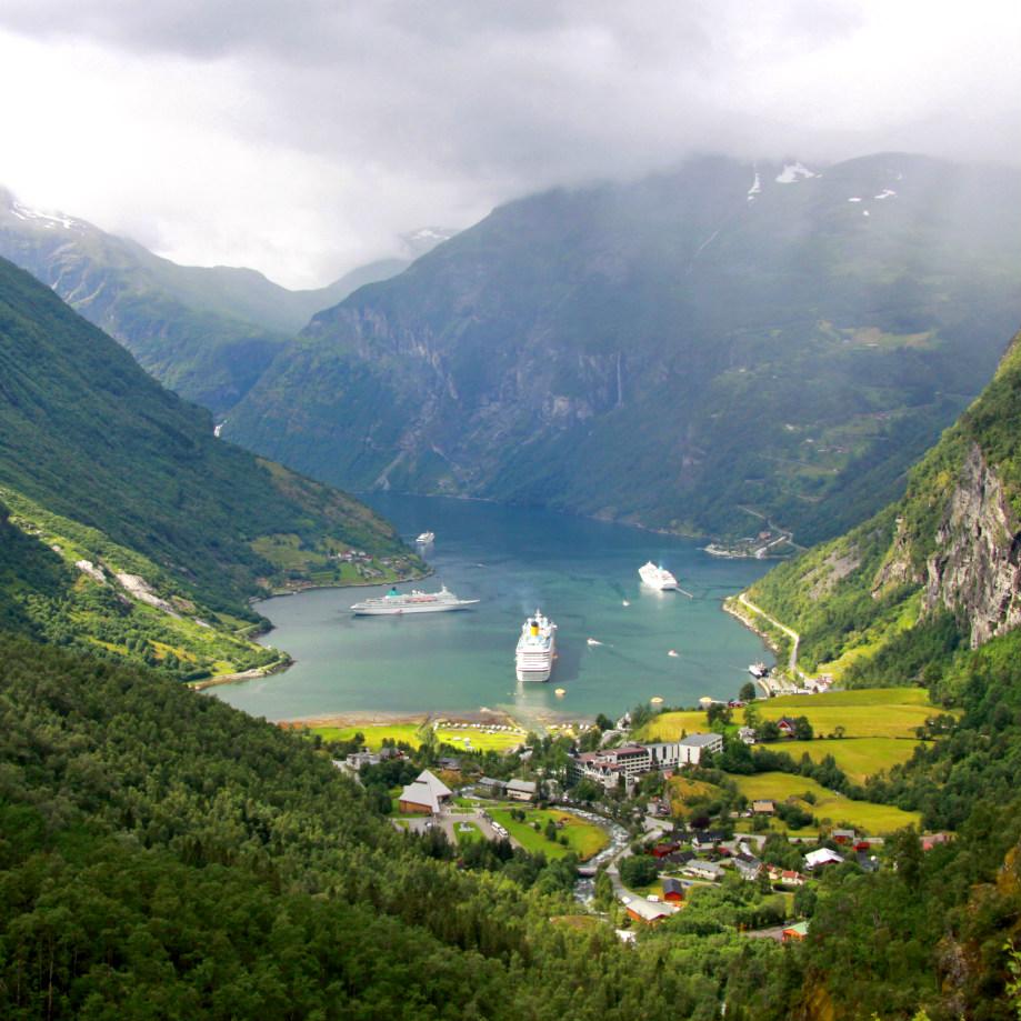 tour di gruppo viaggi organizzati norvegia geirangefjord