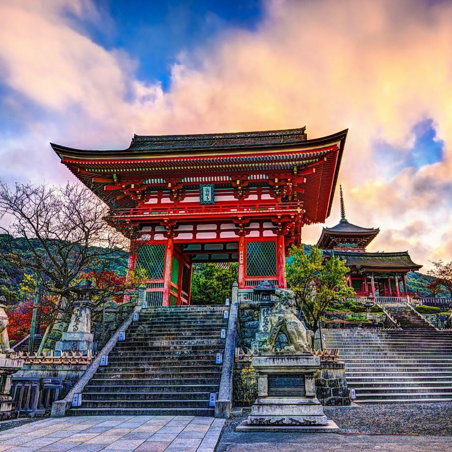 tour di gruppo oriente giappone kyoto