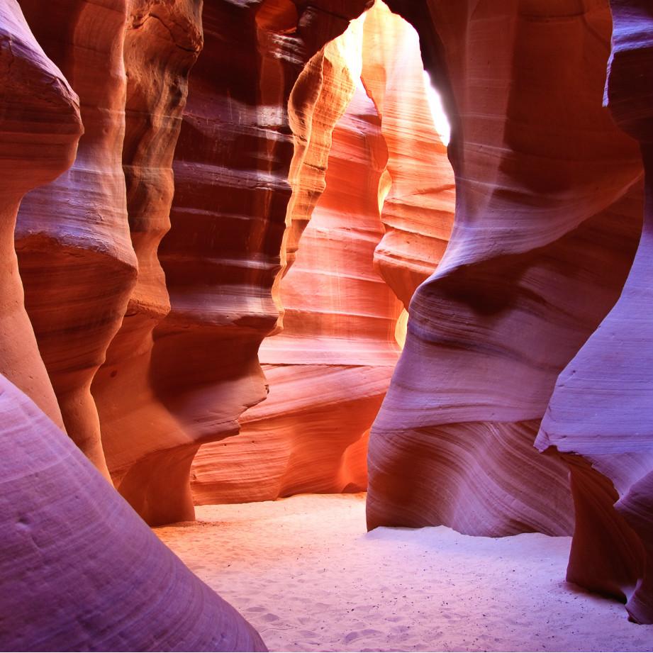 tour di gruppo stati uniti antelope canyon
