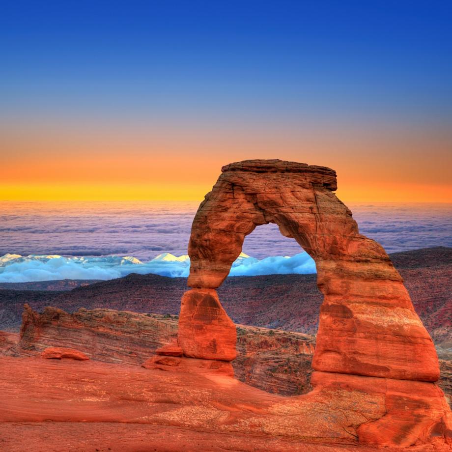 viaggi tour su misura stati uniti arches national park